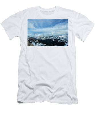 Top Of The Rockies Men's T-Shirt (Athletic Fit)