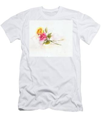 Two Roses Men's T-Shirt (Athletic Fit)