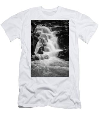 water stair close to the Heinrich Heine hiking way, Harz Men's T-Shirt (Athletic Fit)