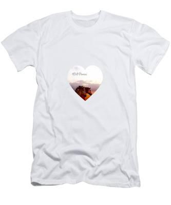 Wild Moorland Ponies Men's T-Shirt (Athletic Fit)
