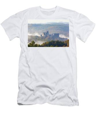 Chateau Beynac In The Mist Men's T-Shirt (Athletic Fit)