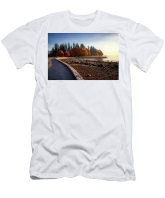 Colorful Autumn Foliage At Stanley Park Men's T-Shirt (Athletic Fit)