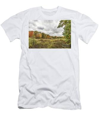 Autumn Has Been Found In Michigan Men's T-Shirt (Athletic Fit)