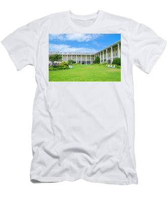 Cape May New Jersey - Congress Hall Men's T-Shirt (Athletic Fit) by Bill Cannon