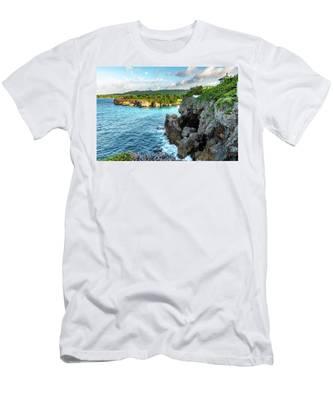 Cliffside Views Portland Jamaica Men's T-Shirt (Athletic Fit)