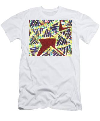 Colourful Webs  Men's T-Shirt (Athletic Fit)