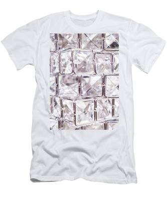Men's T-Shirt (Athletic Fit) featuring the photograph Crystal Bling IIi by Anne Leven