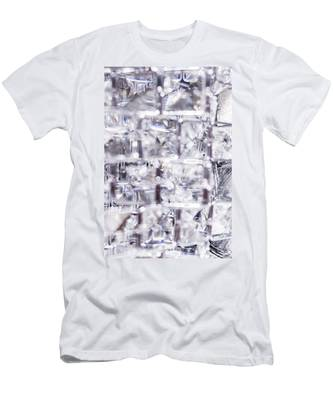 Men's T-Shirt (Athletic Fit) featuring the photograph Crystal Bling Iv by Anne Leven