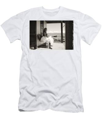 Men's T-Shirt (Athletic Fit) featuring the photograph Debutante by Carl Young
