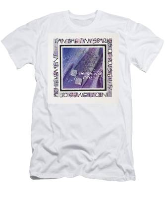 Fan The Sparks Men's T-Shirt (Athletic Fit)
