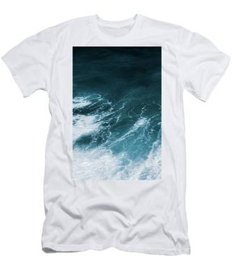 Men's T-Shirt (Athletic Fit) featuring the photograph Freedom Of The Ocean Vi by Anne Leven