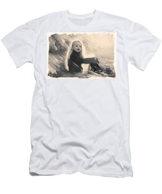 Girl In Jodpurs Men's T-Shirt (Athletic Fit)