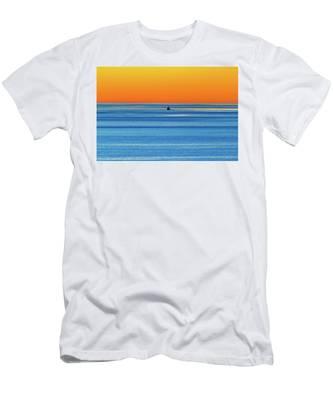 Golden Sunset Series I I I Men's T-Shirt (Athletic Fit)