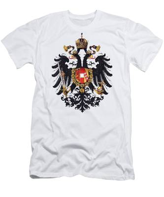 Imperial Coat Of Arms Of The Empire Of Austria-hungary 1815 Transparent Men's T-Shirt (Athletic Fit)