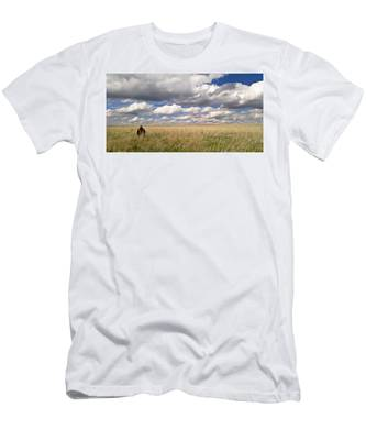 Men's T-Shirt (Athletic Fit) featuring the photograph It's Amazing Here by Carl Young