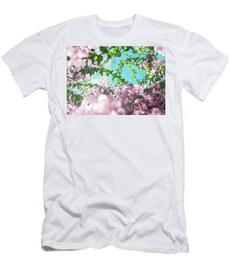 Men's T-Shirt (Athletic Fit) featuring the photograph Floral Dreams II by Anne Leven