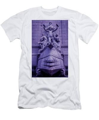 Pigeon Placement Men's T-Shirt (Athletic Fit)