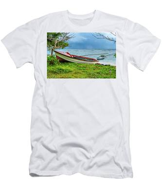 Rainy Fishing Day Men's T-Shirt (Athletic Fit)