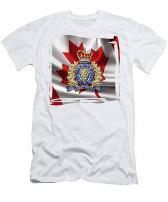 RCMP Canadian Mounted Police T Shirt Mens Tee Many Colors Gift New From US