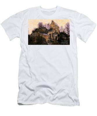 Ruined Castle Men's T-Shirt (Athletic Fit)