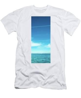 Sea Coast Men's T-Shirt (Athletic Fit) by Anne Leven