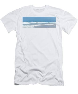 Men's T-Shirt (Athletic Fit) featuring the photograph Summer Wave II by Anne Leven
