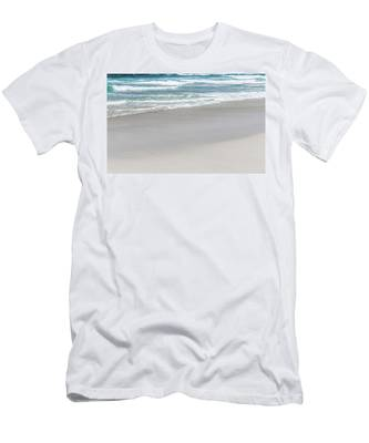 Men's T-Shirt (Athletic Fit) featuring the photograph Summer Wave Iv by Anne Leven