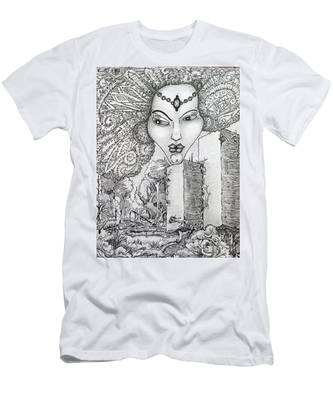 The Queen Of Oz Men's T-Shirt (Athletic Fit)