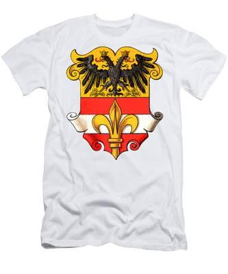Triest Coat Of Arms 1467-1919 Men's T-Shirt (Athletic Fit)