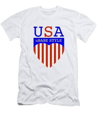 Ubabe Style America Men's T-Shirt (Athletic Fit)