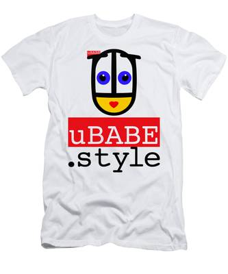Ubabe T Shirt Men's T-Shirt (Athletic Fit)