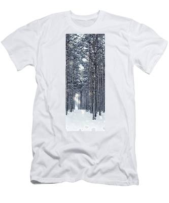 Winter Travel I Men's T-Shirt (Athletic Fit) by Anne Leven
