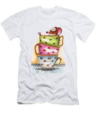 Tea Cup T-Shirts