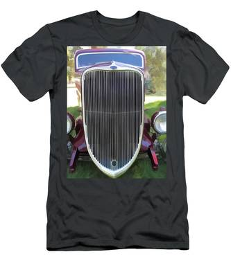 1933 Ford Grille Men's T-Shirt (Athletic Fit)