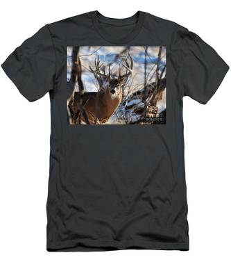 A Buck In The Bush Men's T-Shirt (Athletic Fit)