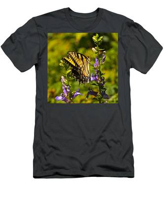 A Warm September Day In The Garden Men's T-Shirt (Athletic Fit)