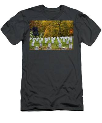 An Autumn Day In Arlington Men's T-Shirt (Athletic Fit)
