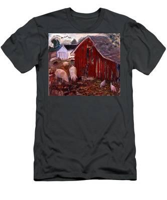 An017 Men's T-Shirt (Athletic Fit)