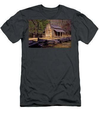 Appalachian Homestead Men's T-Shirt (Athletic Fit)