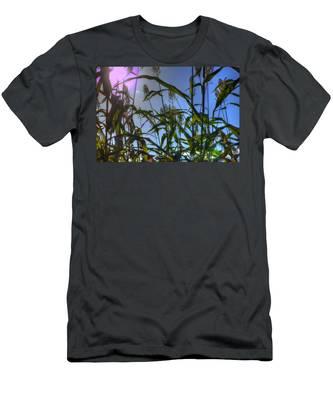 Blazing Rays Men's T-Shirt (Athletic Fit)