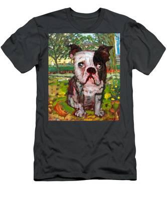 Bulldog Men's T-Shirt (Athletic Fit)