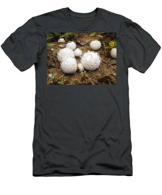 Common Puffball Dewdrop Harvest Men's T-Shirt (Athletic Fit)