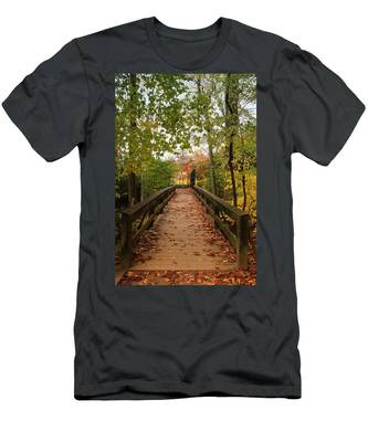 Decorate With Leaves - Holmdel Park Men's T-Shirt (Athletic Fit)