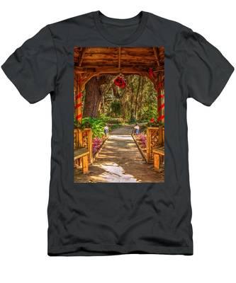 Gazebo Bells Men's T-Shirt (Athletic Fit)