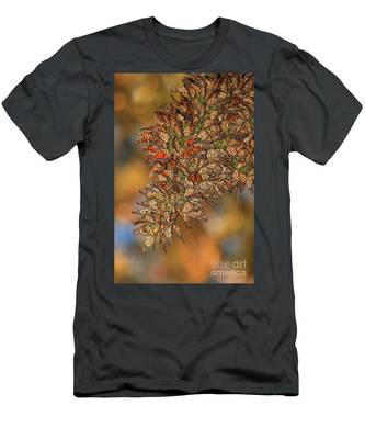 Golden Cluster Men's T-Shirt (Athletic Fit)