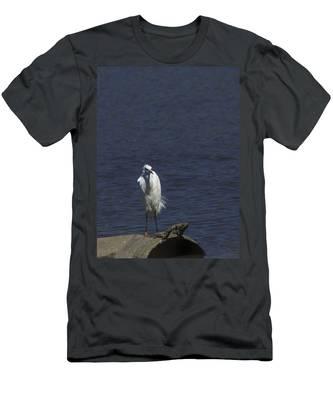 Great Egret Men's T-Shirt (Athletic Fit)