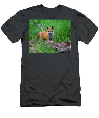 Green As Grass Men's T-Shirt (Athletic Fit)