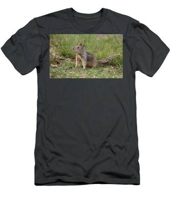 Men's T-Shirt (Athletic Fit) featuring the photograph Hey There by Christy Pooschke