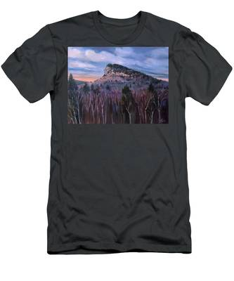 Indian Head In Lincoln New Hampshire Men's T-Shirt (Athletic Fit)
