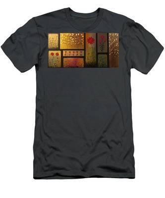 Joyful Garden Men's T-Shirt (Athletic Fit)